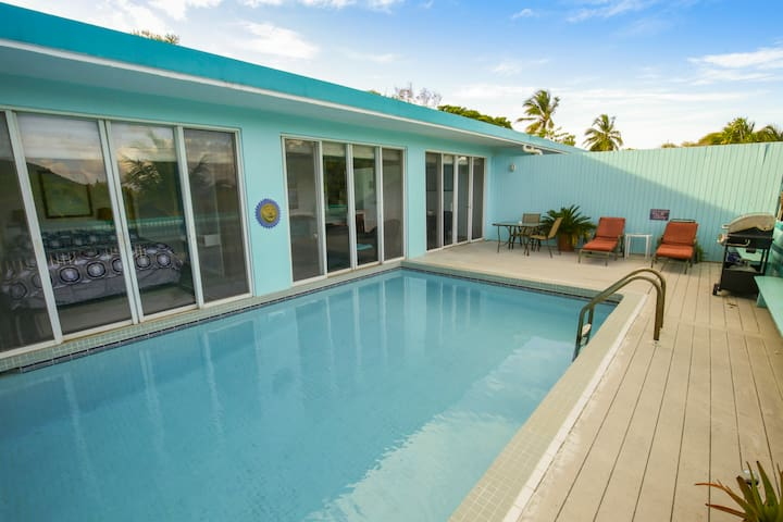 Villa with a Private Pool | Walk to Sapphire Beach