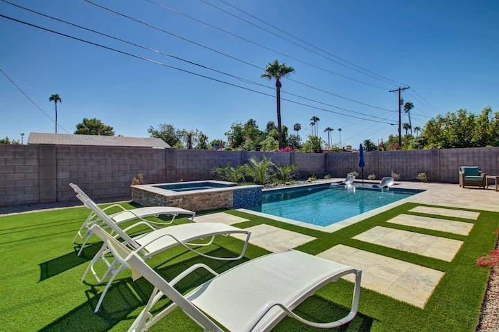 Old Town Scottsdale Home With Backyard Oasis!