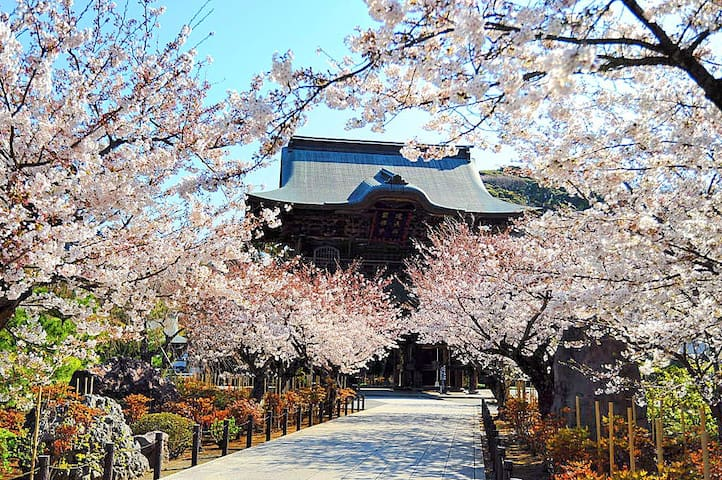 鎌倉まで10分オーシャンビュー最上階にあるお部屋で逗子・葉山の海を一望。カップル、ファミリーに最適。 - Zushi-shi - อพาร์ทเมนท์