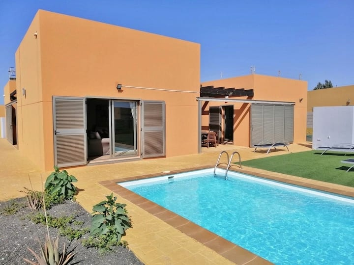 Superbe Villa 3ch Alegría à Caleta de Fuste (Golf)