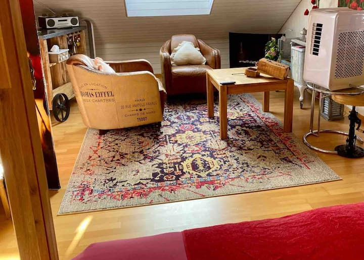 Ein romantisches Apartment im Haus