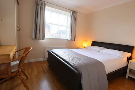 Double Room, near hospital with private parking.