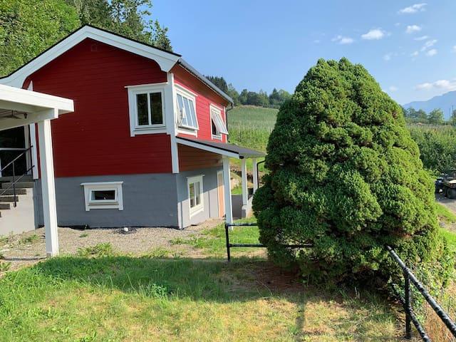 Cottage in Hardanger,close to Trolltunga & glacier
