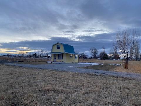 The Little Yellow Barn (near Crystal Hot Springs)