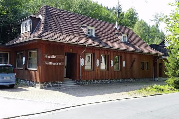 Quaint Apartment in Upper Harz in Wildemann with Views