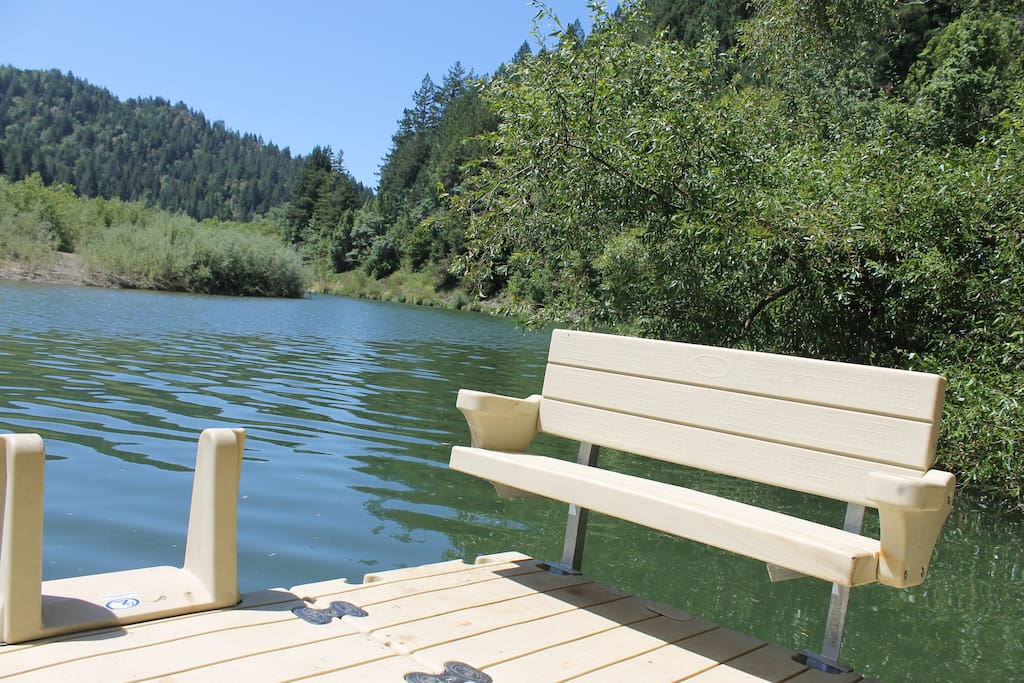 Have a seat on our dock and relax