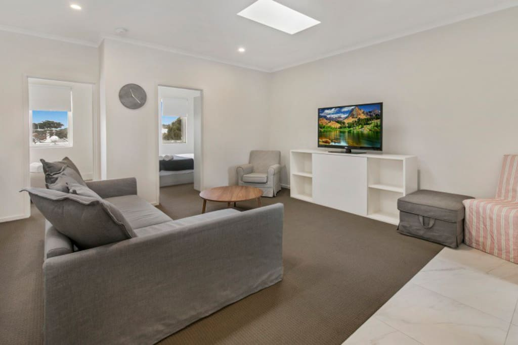 Living area - Sorrento Beach Abode