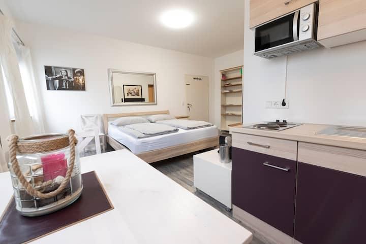 1-Zimmer-Wohnung - Nähe Kapuzinerberg