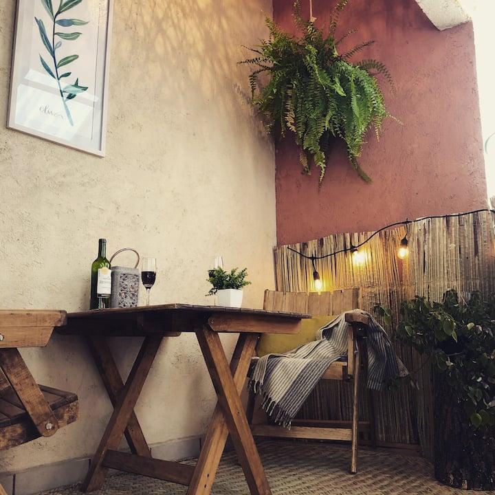 ♡Hermoso RINCONCITO OLIVO❁5 min centro,Hm-office