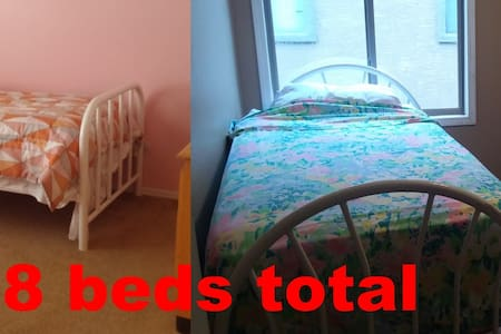 8 beds in 2 rooms - Tolleson - 一軒家