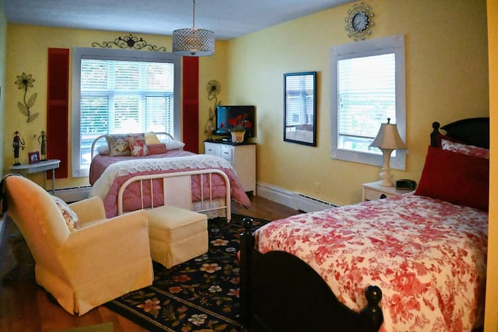 The Red Shutters Suite