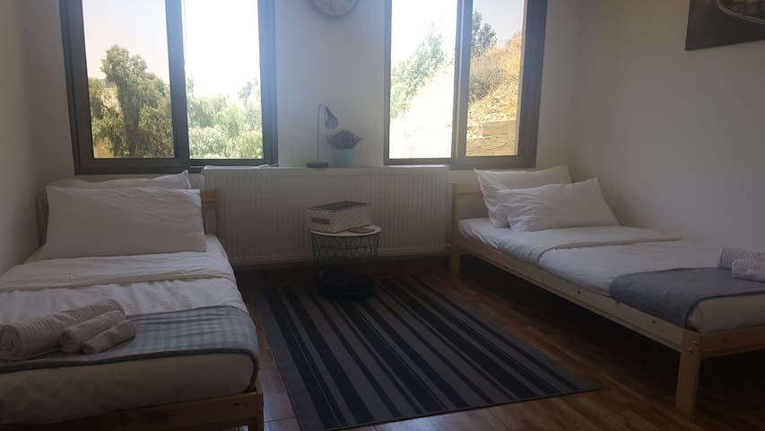 Cute twin bedroom in luxurious Abdoun district