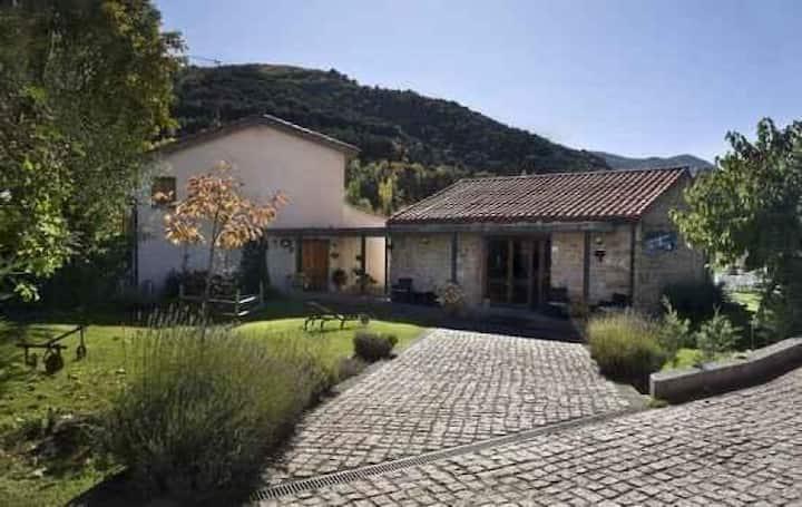 Habitación Doble con dos camas individuales en San Millán