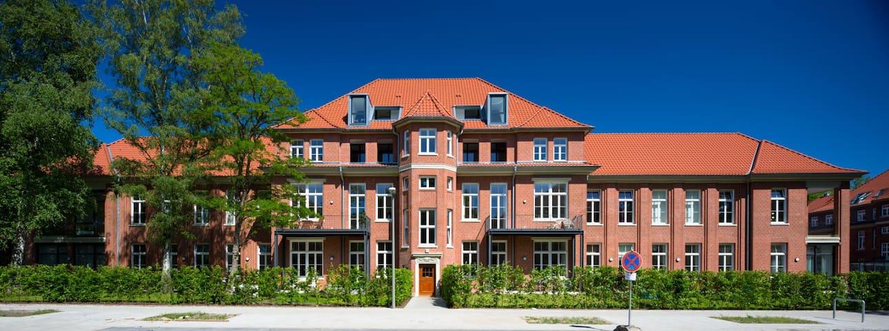 Designer Loft, 100 qm, Nähe Zentrum mit Garten - Hamburg - Loft