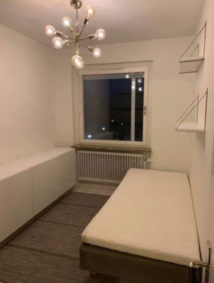 Mysigt rum i lägenhet
