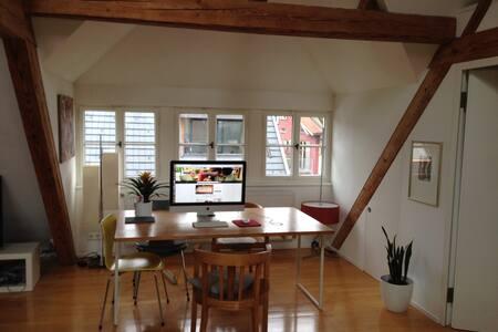 Dachgeschosswohnung in Hard - Apartment