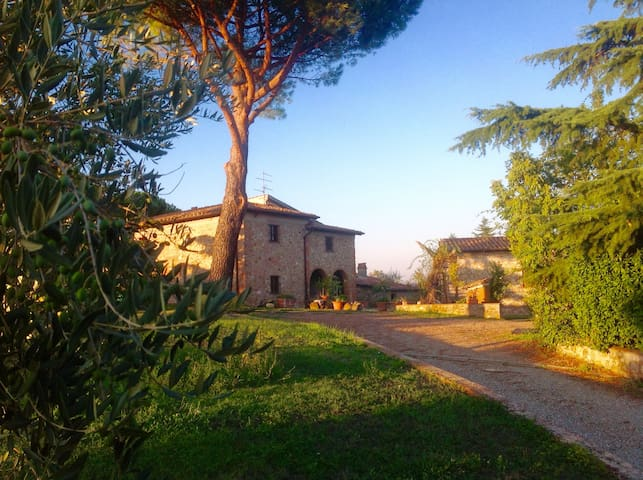 Country House in Chianti with view to Florence