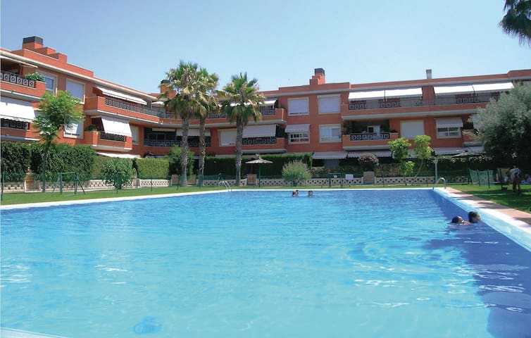 Holiday apartment with 2 bedrooms on 88 m² in Santa Faz/Alicante