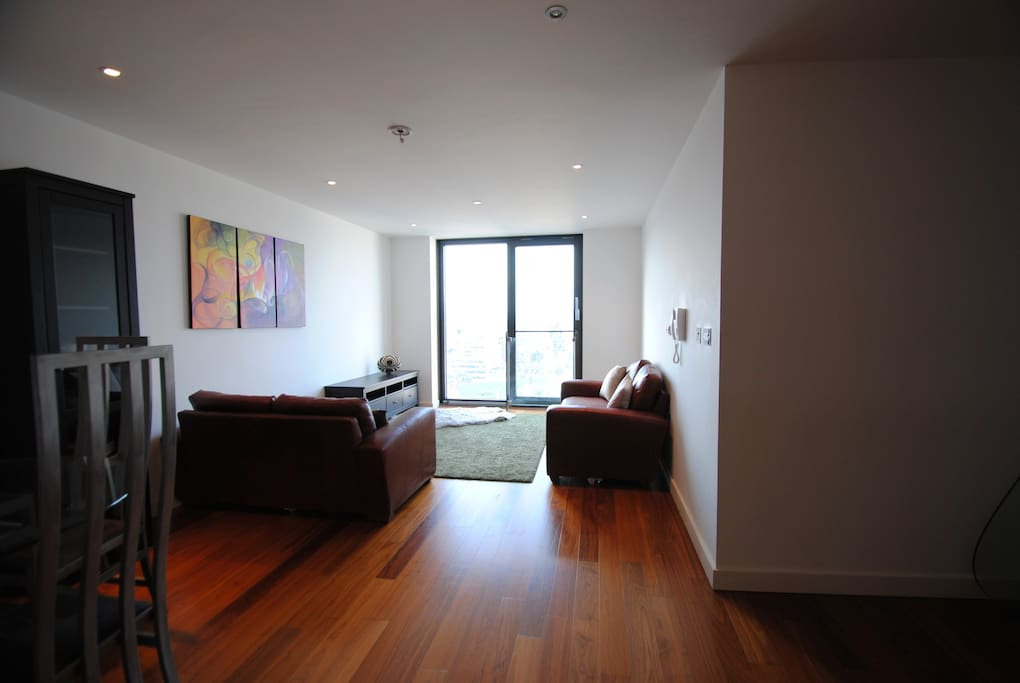 Living room.  The window slides all the way across to allow you to look out, from behind a strong guardrail of course!