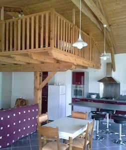 Loft dans grange rénovée - Rauret - Apartment