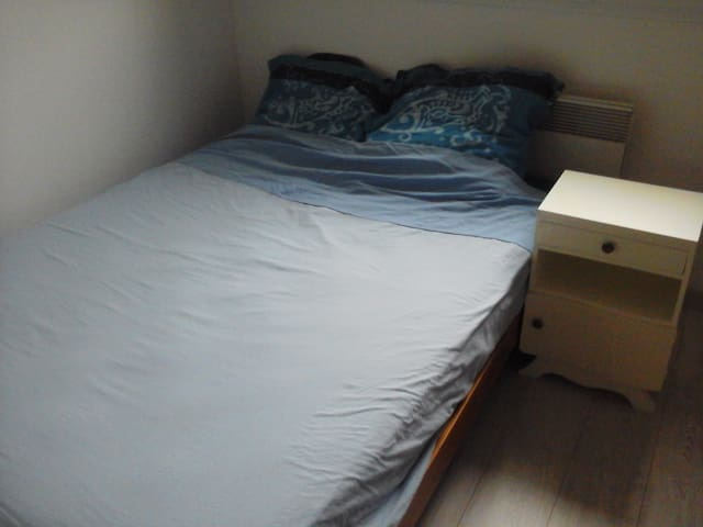 Chambre dans maison récente - Bourg-Achard