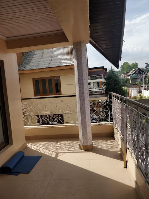Balcony adjacent to Bedroom