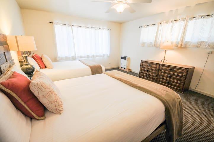 1st bedroom - 2 queen beds.