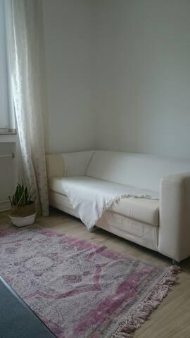nice room near city center and parks