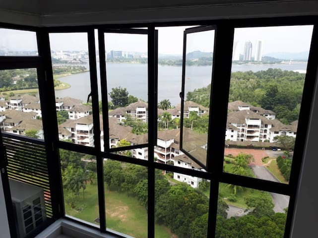 Cyberjaya home with a view