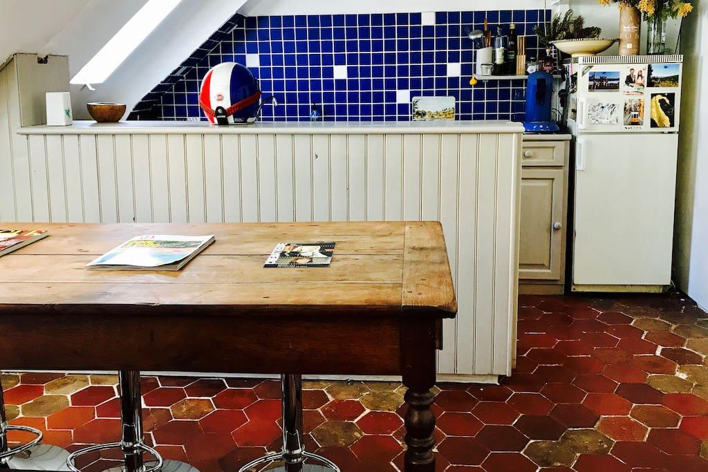 Dinner Room & Kitchen