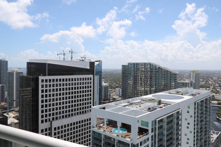 W Hotel Penthouse Floor PRIVATE room-Bath-balcony - Miami - Kondominium