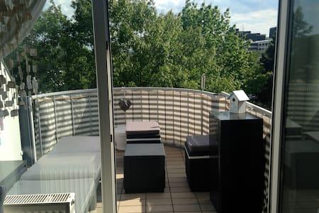 Maisonettewohnung mit Südbalkon (nähe Klinikum) - Apartment