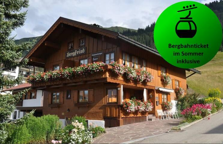 Das Bergfried | Schafalpkopf | zentral und ruhig