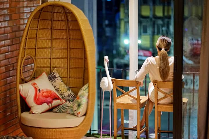 Family Designer Guesthouse | 5 min to Siam, MBK