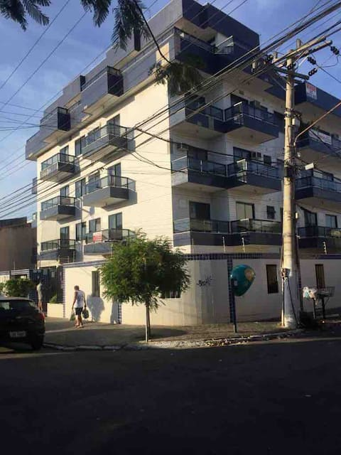 Apartment 500 meters from Praia do Forte!