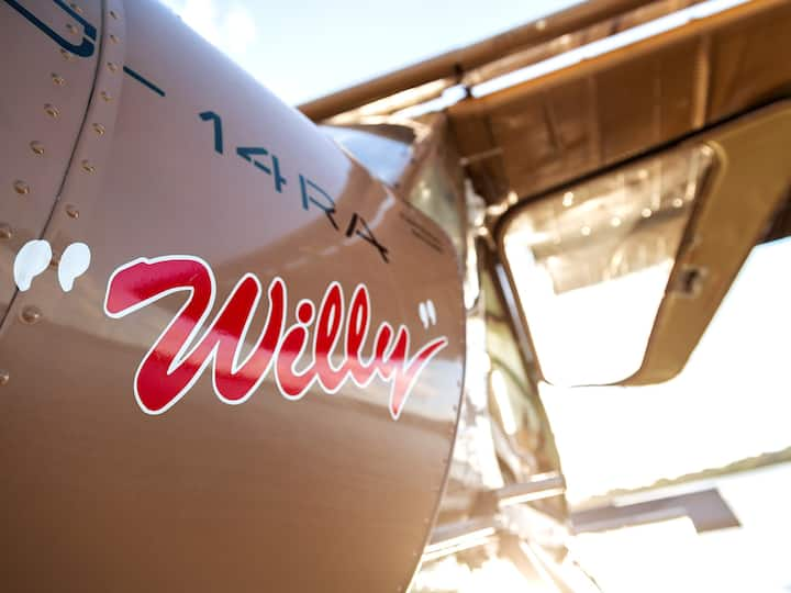 Willy is a Wilga 80 Seaplane