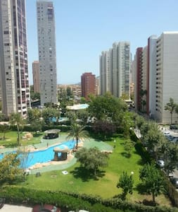 Bedroom in flat Benidorm - Wohnung