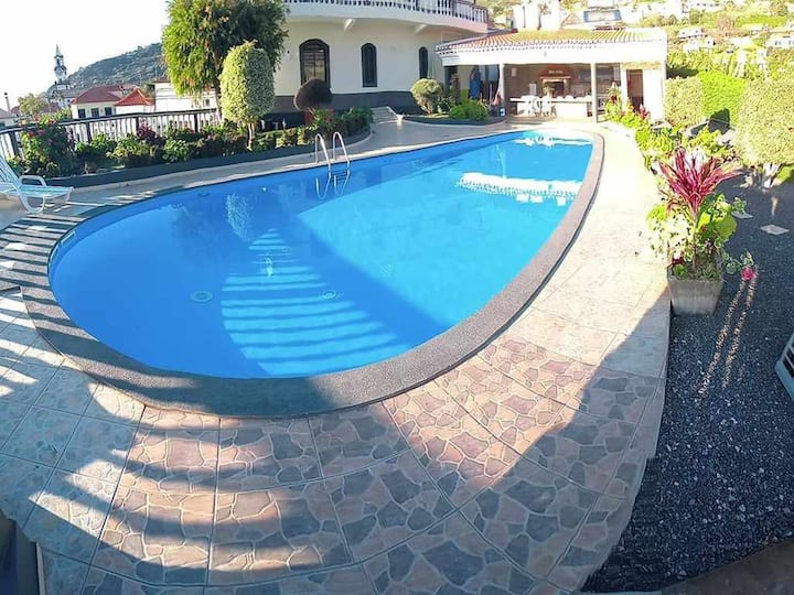 Arcos Grands Suites with enormous & private pool.