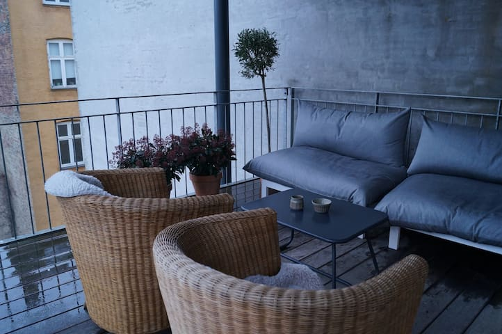 Great centrally located apartment - Kopenhag - Daire