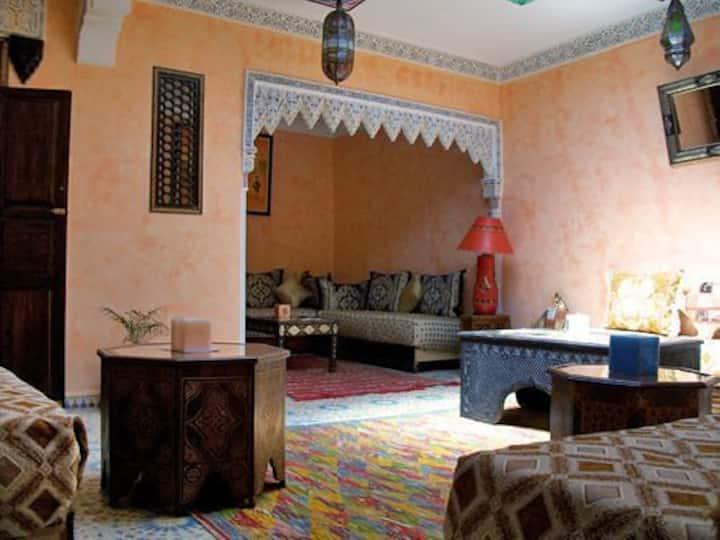 Chambre double au Riad Idrissi 2