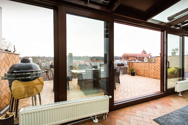ORCHID LUXURY SUITE Roof Terrace Best OldTown View