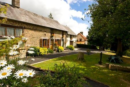 Beautiful Normandy farmhouse - Saint-Martin-de-Landelles - Huis