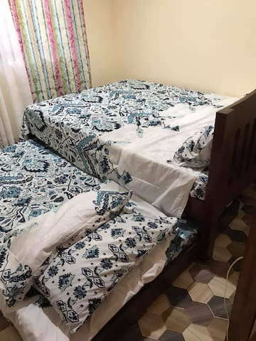 Bedroom2 Queen size bed with Full Out Queen Bed