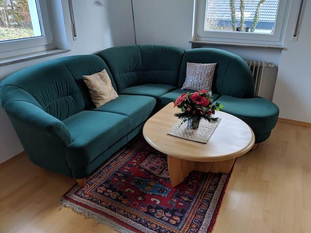 2 Zi-Apartment - im Grünen und zentral