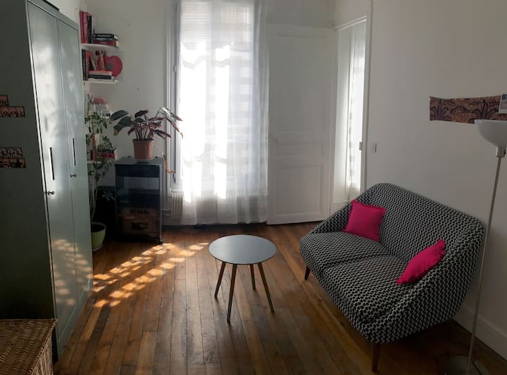 Charmant appartement, quartier Charonne (20ème)