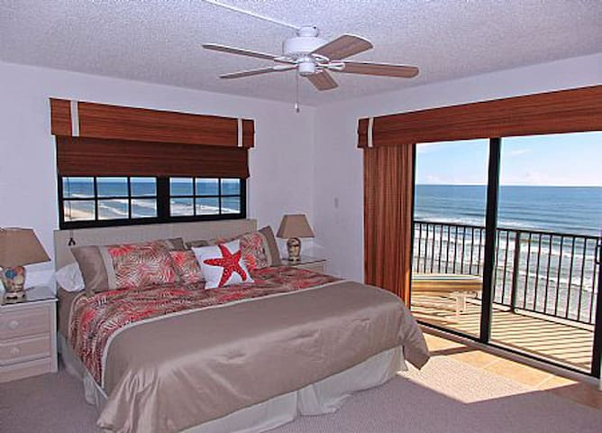 Oceanfront 3 bedroom - Amazing View! - New Smyrna Beach - Apartamento