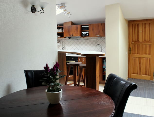 Specious apartment on the top floor - Liepāja - Bed & Breakfast