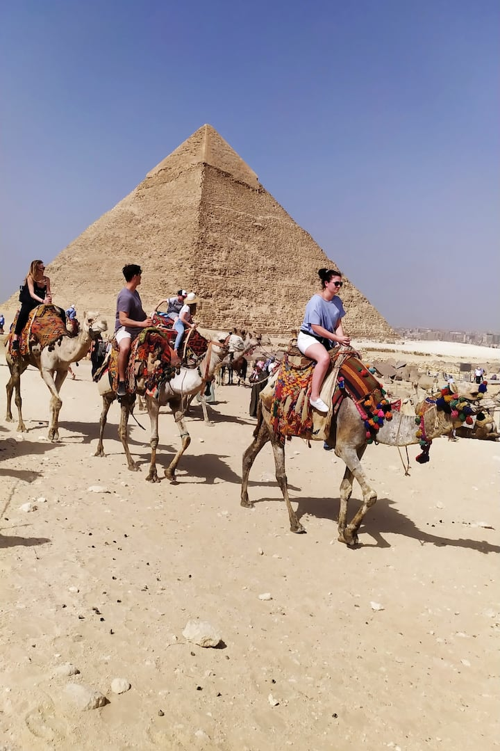 PRIVATE SAFARI TOUR FOR YOU IN PYRAMIDS CAMEL RIDE LONG TIME DISRET OFF THE PYRAMIDS SAHARA GIZA PLATEAU AT PYRAMIDS