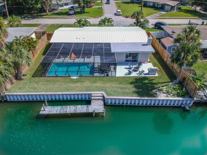 Newly Remodeled Waterfront Home w/  Pool & Dock