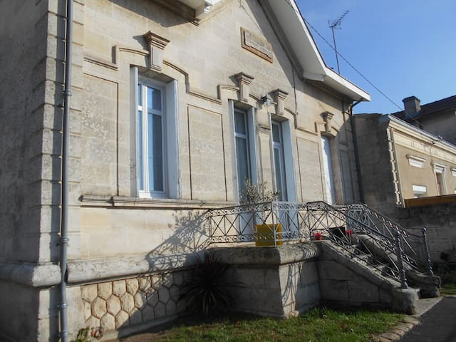 grande maison avec jardin - Libourne - บ้าน